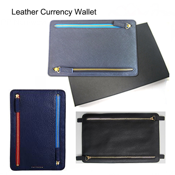 Leather Currency Wallet
