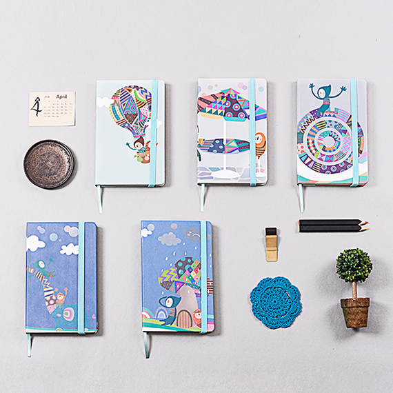 Fabric Cover Notebook