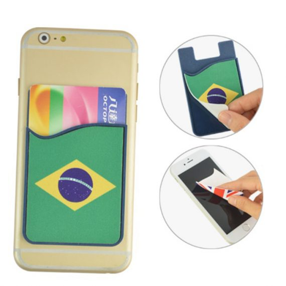 Silicone Smartphone Wallet Cleaner