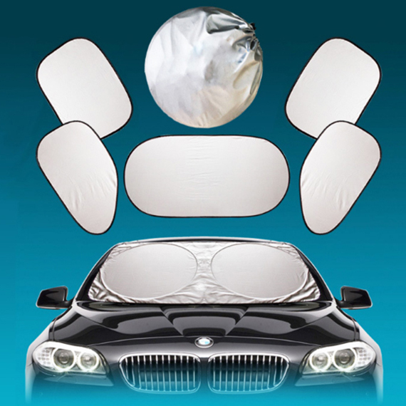 Car window sunshade